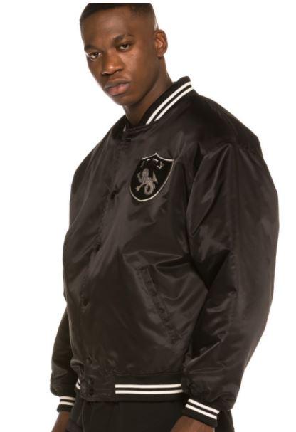 Chaqueta Grimey Call of Yore Reversible Satin Jacket