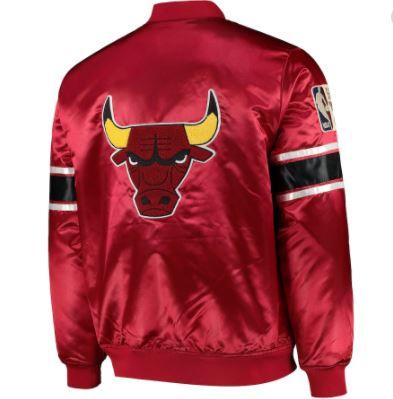 Cazadora Heavyweight Satin Jacket Bulls