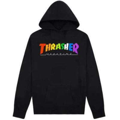 Sudadera Thrasher Rainbow logo