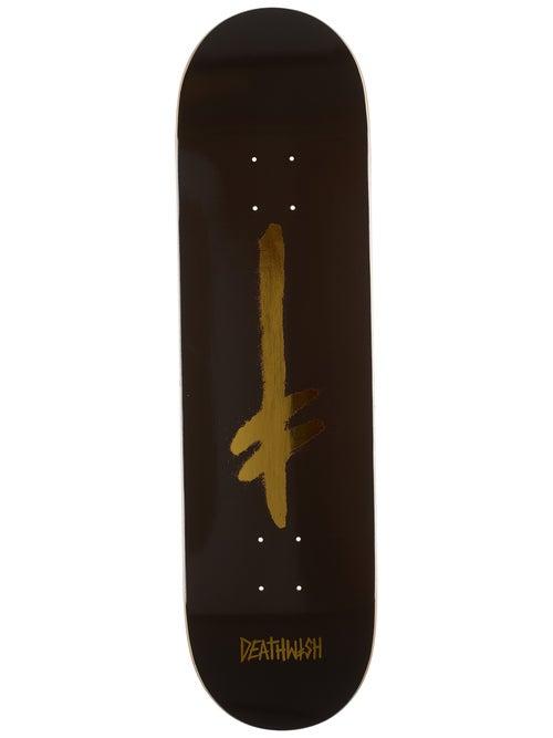 Tabla deathwish gold/black logo 8.475