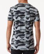 camiseta new era geometric aop chicago bulls
