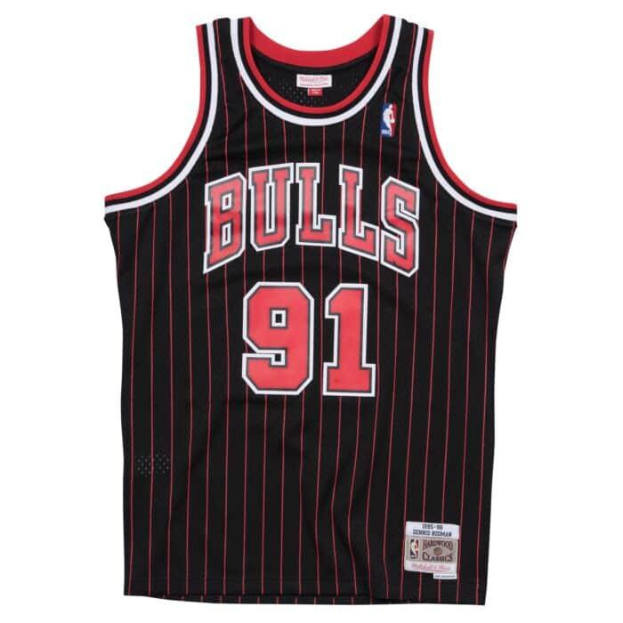 swingman camiseta d rodman mitchell & Ness chicago bulls