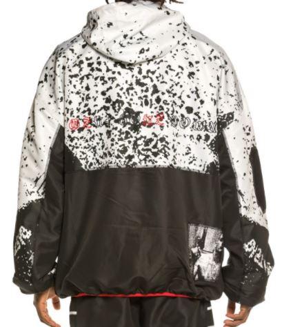 cazadora grimey x gzuz raincoat