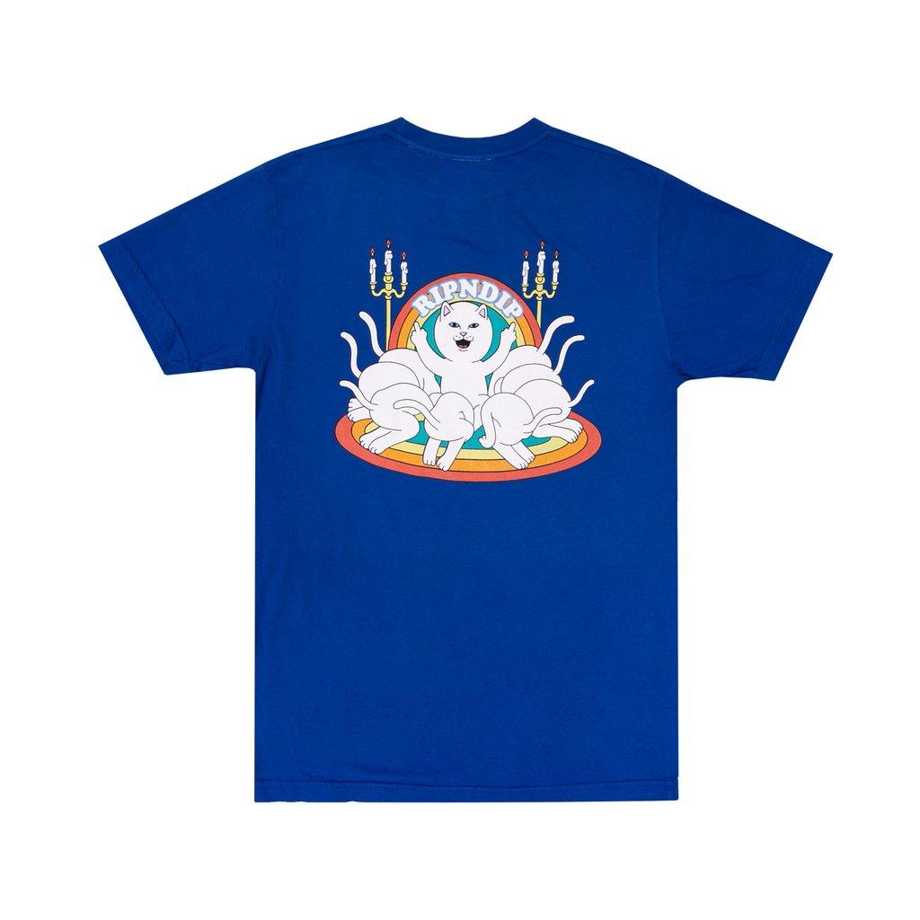 camiseta ripndip blue royal praise