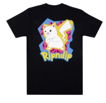 Camiseta ripndip catch em all black