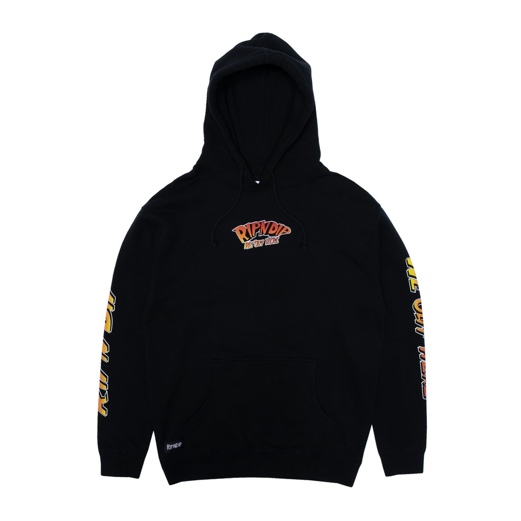 ripndip sudadera out of this world hoodie