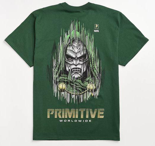 primitive tee doom tee camiseta