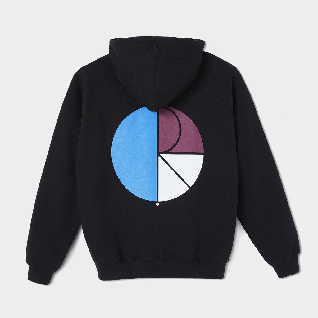 Sudadera Polar Skate Co 3 Tone Fill Logo Negra