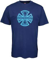 convex independent tee camiseta navy