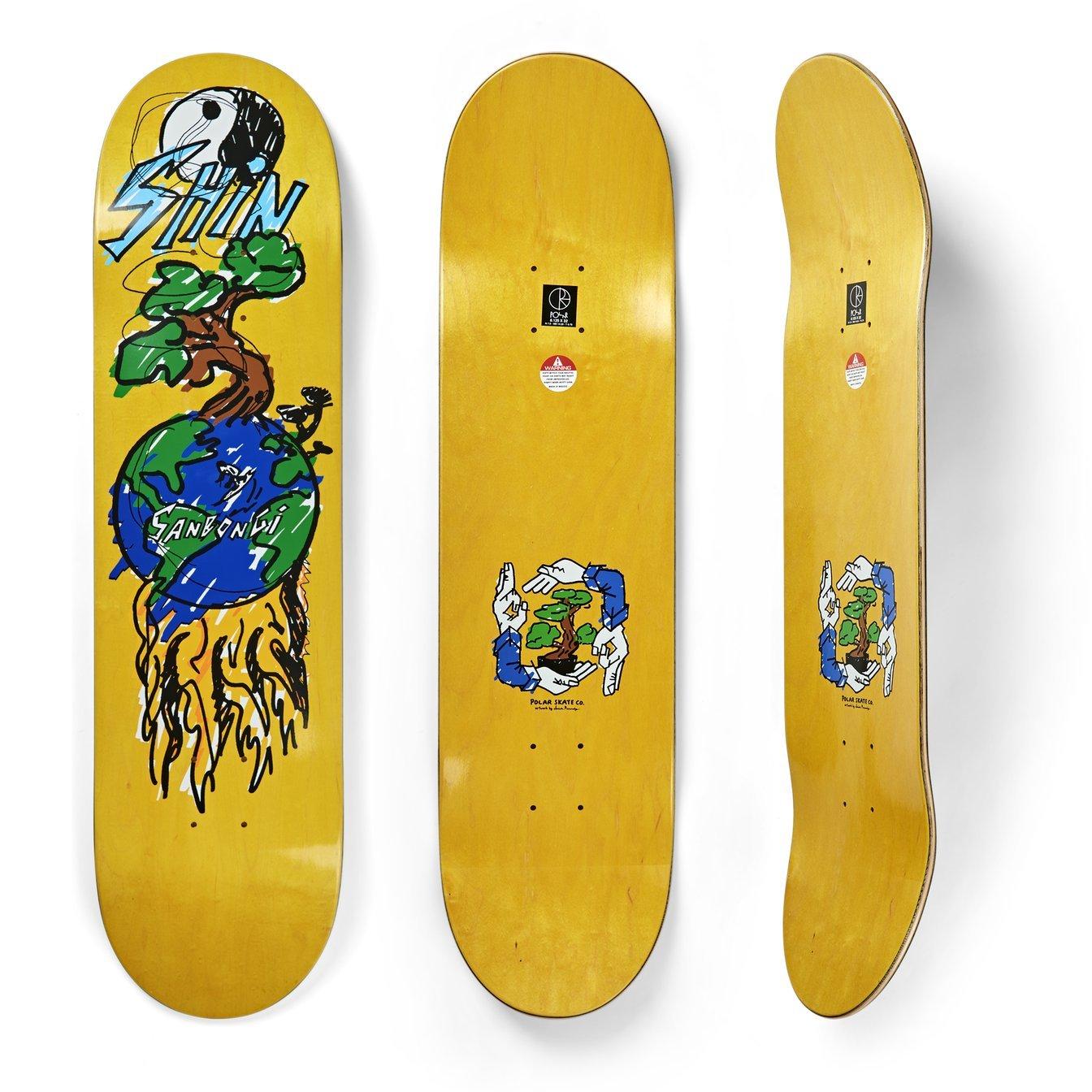 shin sanbongi deck polar skate co bonzai ride