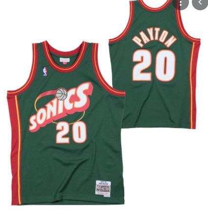 camiseta mitvhell & Ness gary payton 20 swingman nba balloncesto basket