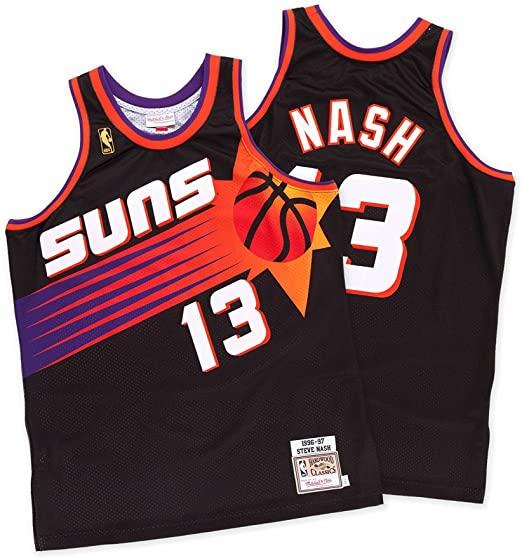 camiseta swingman steve nash 13 vintage nba swingman baloncesto